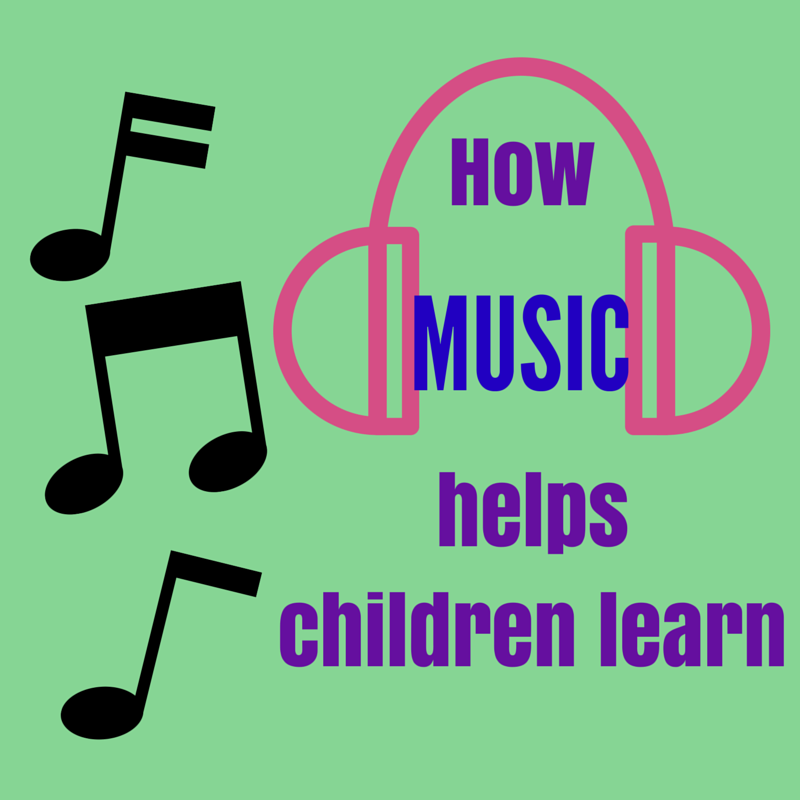 How music helps children learn