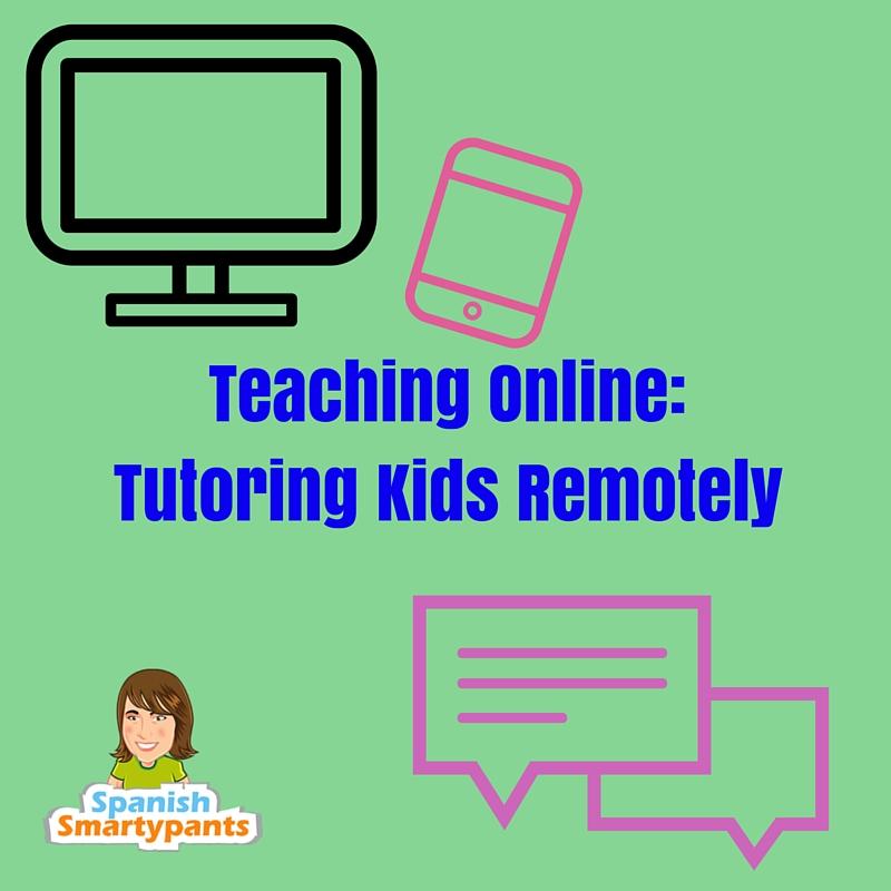 Teaching Online-Tutoring Kids Remotely